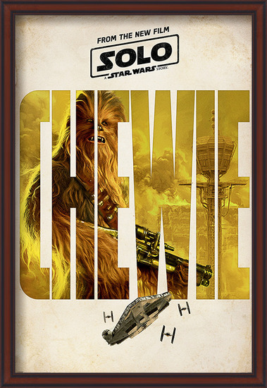 Solo: A Star Wars Story - Chewie Teaser Poster