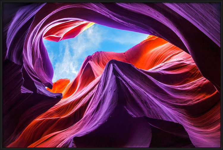 Art Print on Demand Magical Lower Antelope Canyon