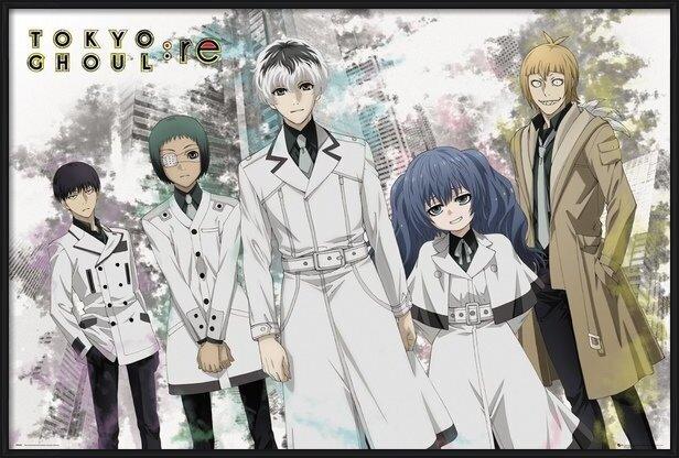 Tokyo Ghoul - Re - Key Art 1 Poster