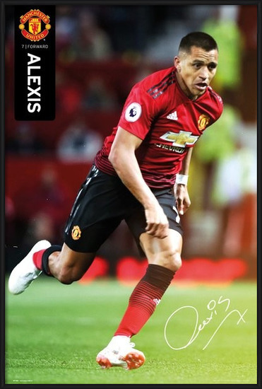 Manchester United - Alexis 18-19 Poster