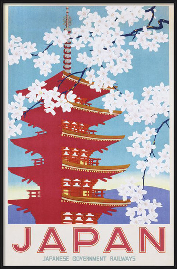 Japan railways Poster