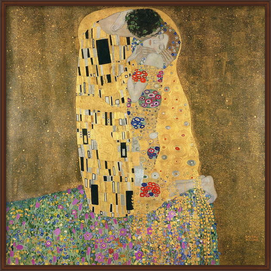 Fine Art Print  The Kiss, 1907-08