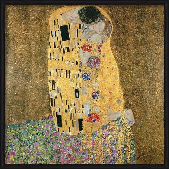 Fine Art Print  The Kiss, 1907-08