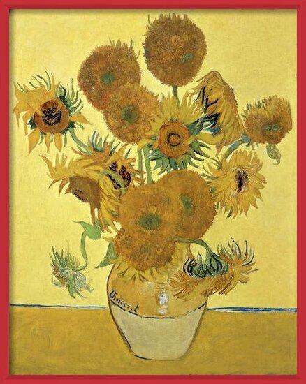 Fine Art Print Sunflowers, 1888