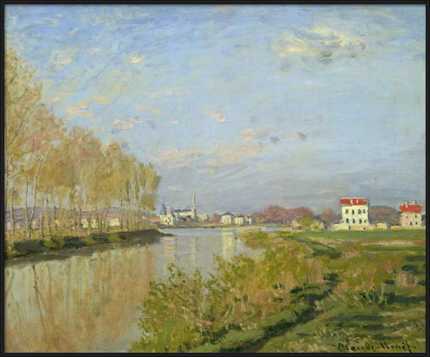 Fine Art Print  The Seine at Argenteuil, 1873