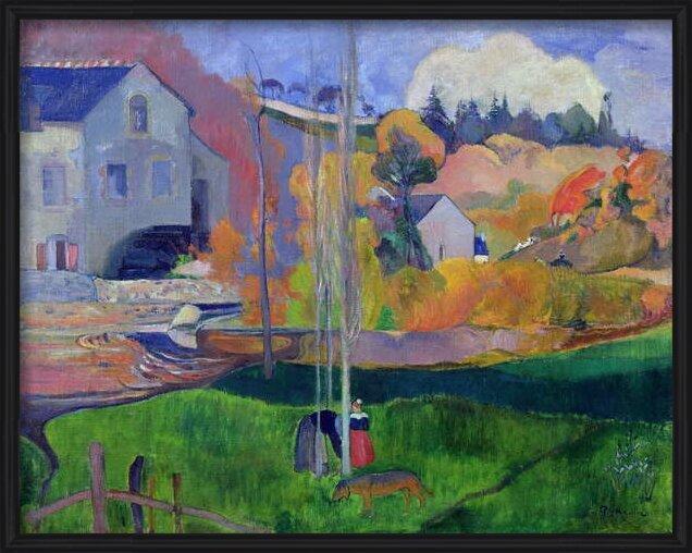 Fine Art Print Brittany Landscape: the David Mill, 1894