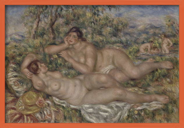 Fine Art Print The Bathers, c.1918-19