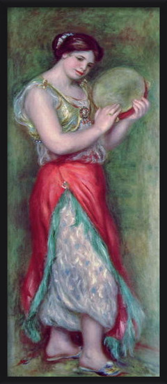 Fine Art Print  Dancing Girl with Tambourine, 1909