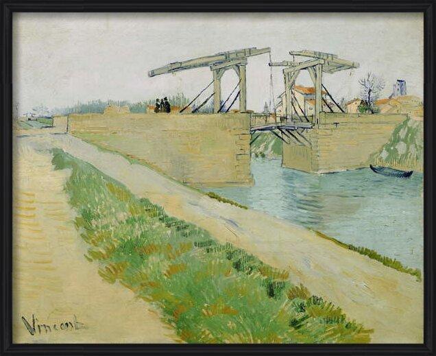 Fine Art Print The Langlois Bridge, March 1888