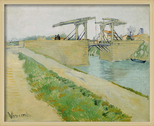 Fine Art Print The Langlois Bridge, March 1888