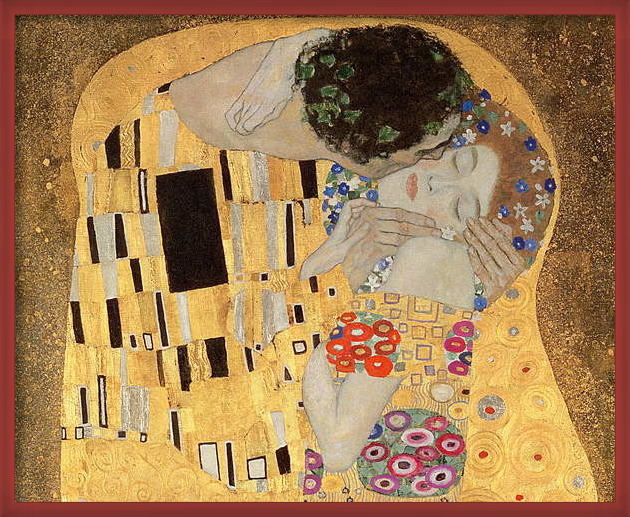 Fine Art Print  The Kiss, 1907-08 (oil on canvas)