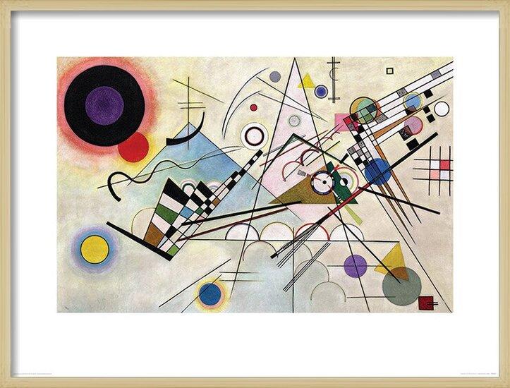 Wassily Kandinsky - Composition VIII Art Print