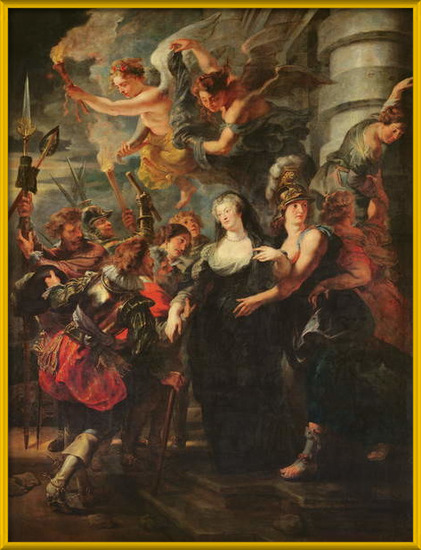 Fine Art Print  The Medici Cycle: Marie de Medici (1573-1642) Escaping from Blois, 21st-22nd February 1619, 1621-25