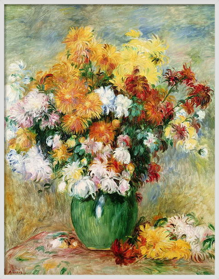 Fine Art Print  Bouquet of Chrysanthemums, c.1884