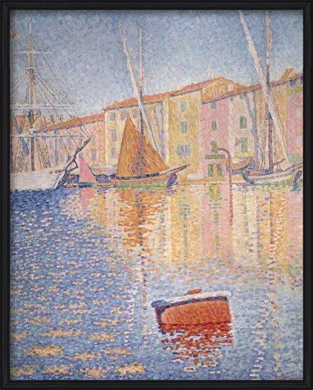 Fine Art Print The Red Buoy, Saint Tropez, 1895