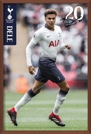 Tottenham - Alli 18-19 Poster