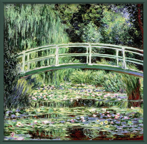 Fine Art Print White Waterlilies, 1899