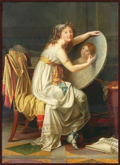 Fine Art Print  Portrait of Rose Adelaide Ducreux (1761-1802)