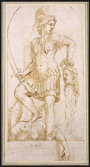 Fine Art Print Perseus, c.1540