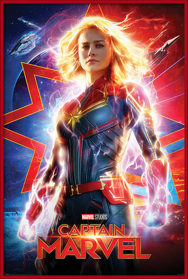 Captain Marvel - Higher, Further, Faster Poster