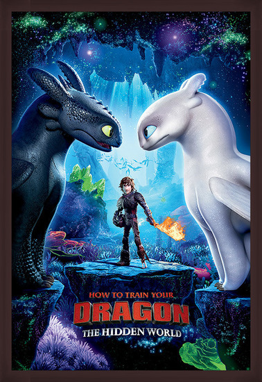 How To Train Your Dragon 3 - One Sheet Poster