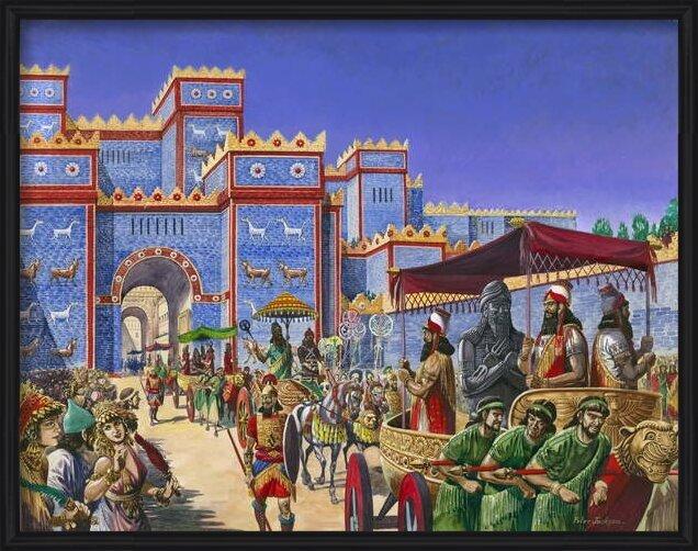 Fine Art Print  New Year's Day in Babylon