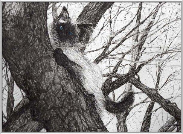 Fine Art Print Up the apple tree, 2006,