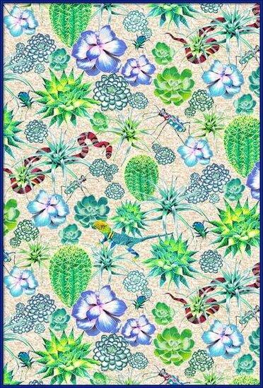 Fine Art Print  Les Jardins Majorelle - Succulents