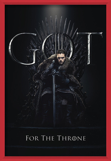 Game Of Thrones - Jon For The Throne Poster
