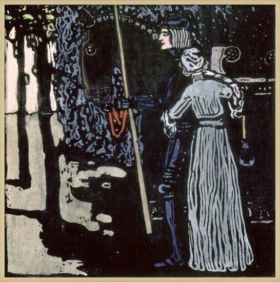 Fine Art Print The Farewell, 1903