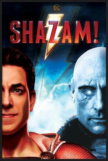 Shazam - Good vs Evil Poster