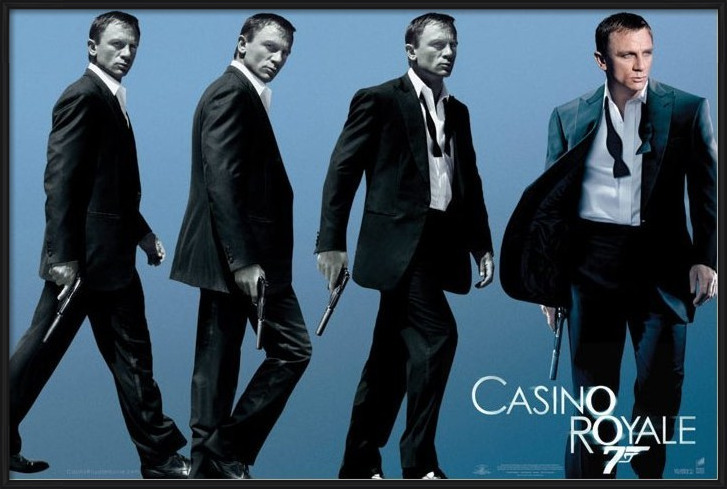 JAMES BOND 007 - casino royale Poster