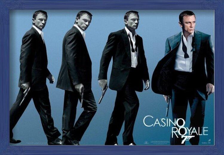 JAMES BOND 007 - casino royale  Poster