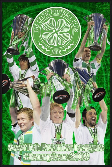 Celtic - spl champs 07/08 Poster