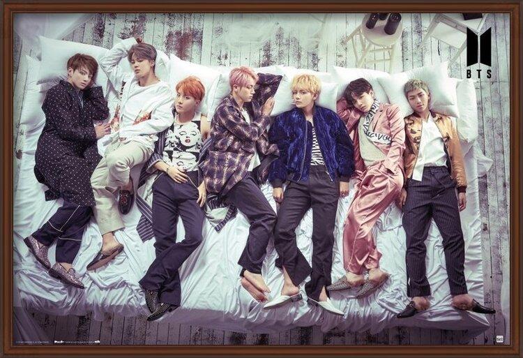 BTS - Bed Poster