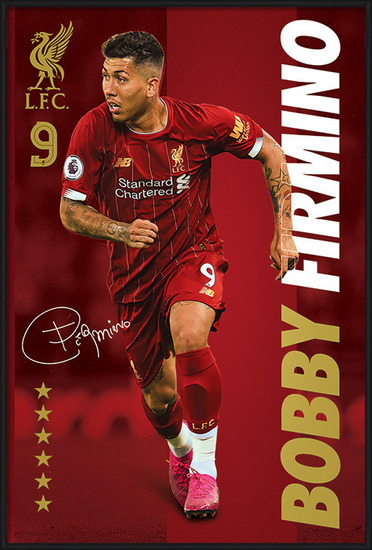 Liverpool FC - Bobby Firmino Poster