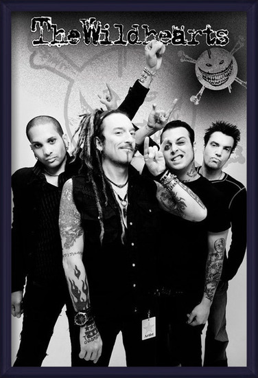 the Wildhearts - group Poster