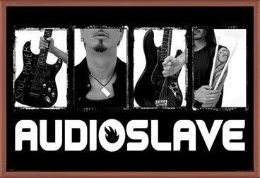 Audioslave - exile Poster