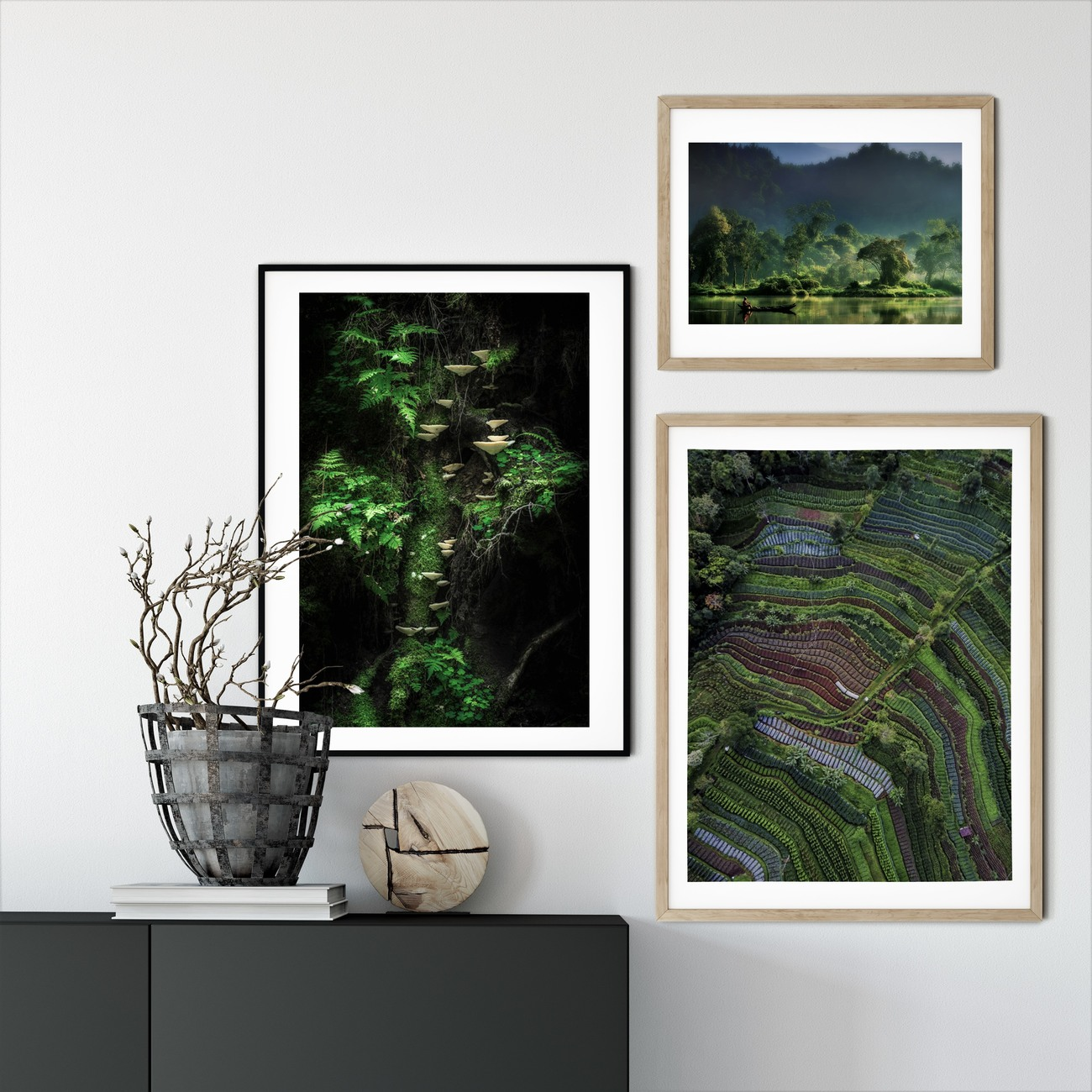 Art Print on Demand Painting of  Nature