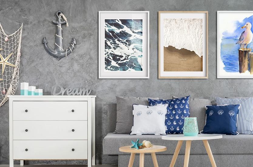 Fine Art Print Seagull on dock, 2014,