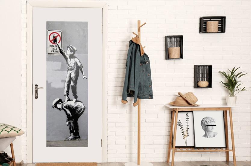 Poster Banksy - Girl Floating