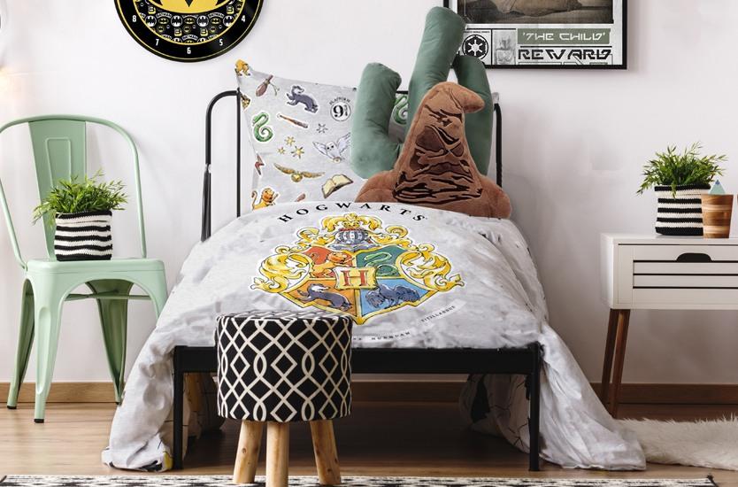 Bed sheets Harry Potter - Hogwarts