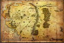 The Hobbit - Middle Earth Map