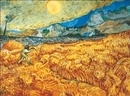 Wheat Field with Reaper, 1889