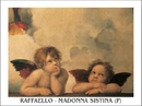Raphael Sanzio - Sistine Madonna, detail – Cherubs, Angels 1512