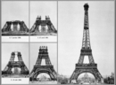 Paris - Construction of Eiffel tower