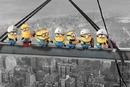 Despicable Me - Minions Lunch on a Skyscraper