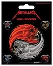 Metallica - Yin & Yang Skulls Pushead