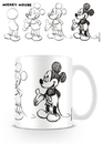 Mickey Mouse - Sketch Process