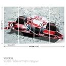 Formula 1 Racing Car Bricks